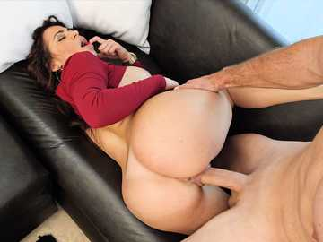 Latina MILF hotty Julianna Vega gets her trimmed pussy pounded in a hardcore style