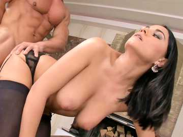 Adia Sweet getting doggie style pounded from her neighbor Matt
